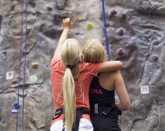 Prova på klättring Privat