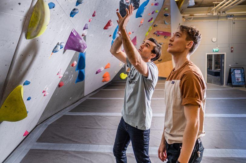 Prova på klättring – Privat