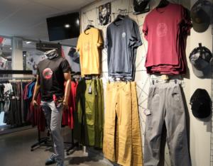 Träningskläder för klättrare