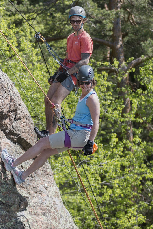 klättring utomhus